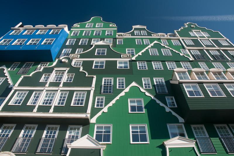 Intell hotel Zaandam Nederland - Zaanse huisjes