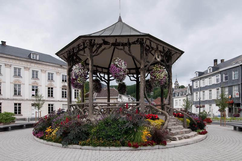 Malmedy België - Muziekkiosk