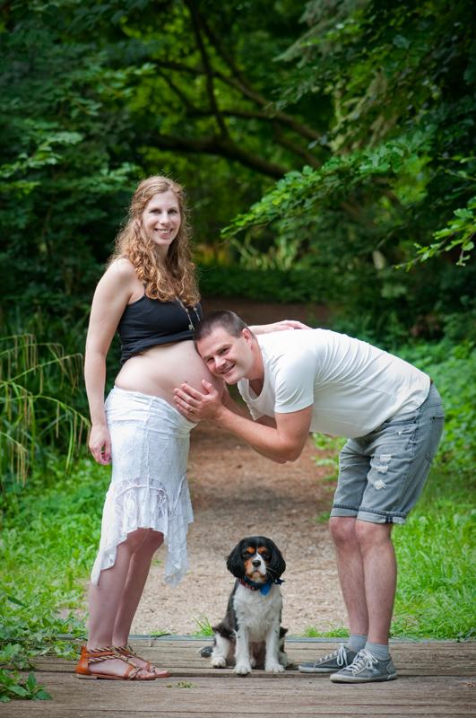 Zwangerschapsfotografie bos Zevenaar