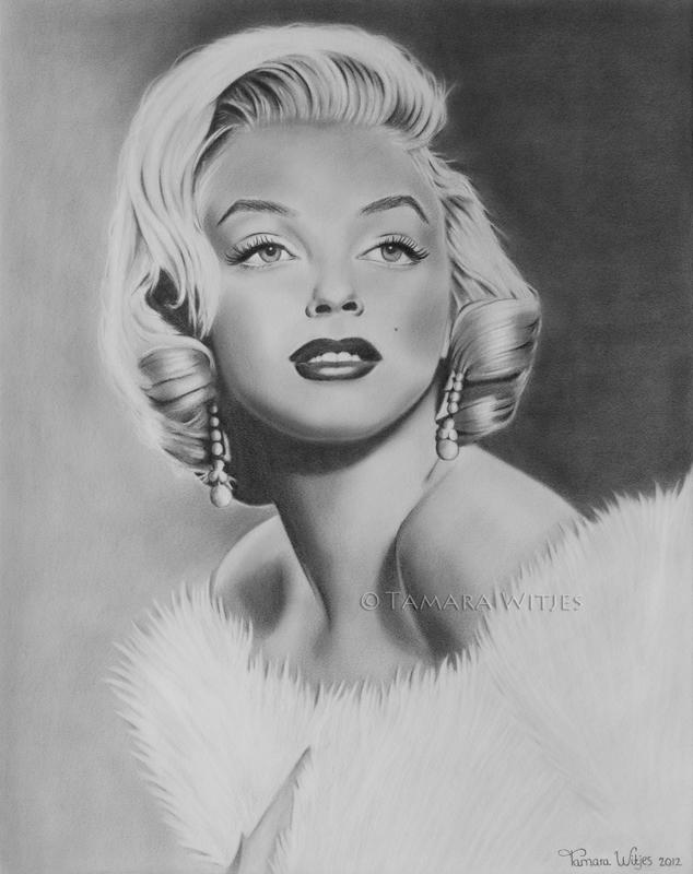 Marilyn Monroe schilderij